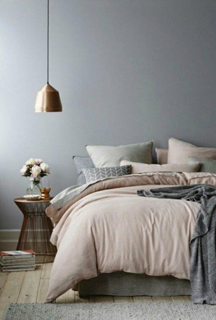 pastel roze is hip combineer het met grijs voor een prachtige slaapkamer je leest meer over het inrichten van je slaapkamer op woonblog