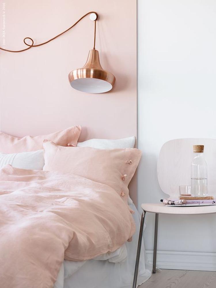 Roze Slaapkamer Accessoires.Lichtroze Is Een Prachtige Kleur Voor In De Slaapkamer