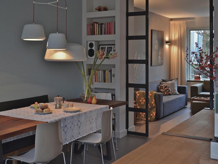 mooie afscheiding van woonkamer naar eetkamer.. foto geplaatst, Deco ideeën