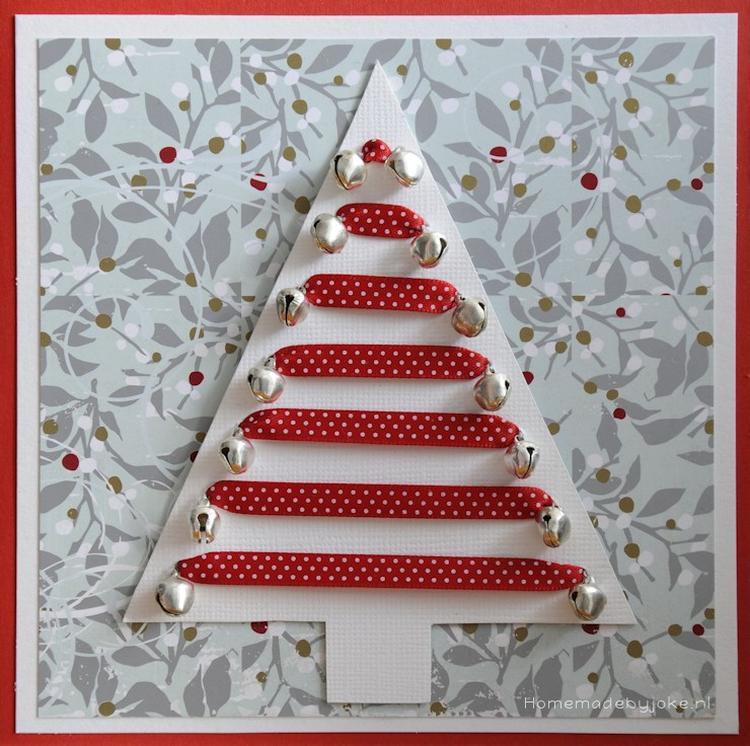 Deze Leuke Kerstkaart Of Kerstdecoratie Kun Je Maken Met Papier