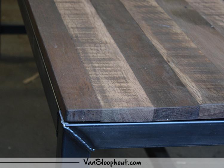 Top Mangolook tafelblad met een stalen frame als tafelpoot! #mangolook  BS29