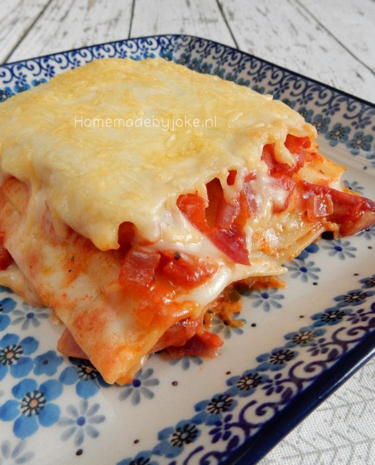 zelf lasagne maken simpel