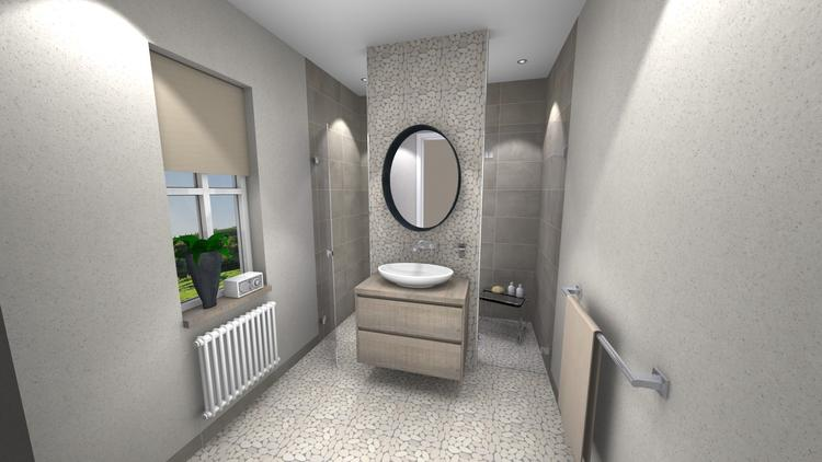 Middelkoop culemborg badkamers kiezelstenen kiezelstenen en