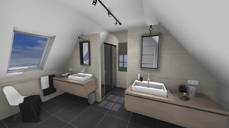 Middelkoop Culemborg / badkamers) Een moeilijke toekomstige badkamer ...