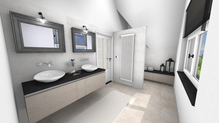 Badkamer Modern Landelijk : Middelkoop culemborg badkamers modern landelijke badkamer die