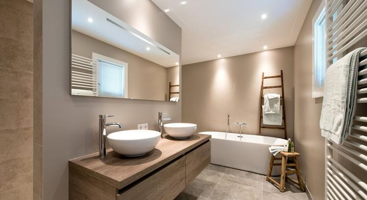 Badkamer met twee luxe stijlen top ontwerp zelf je nieuwe