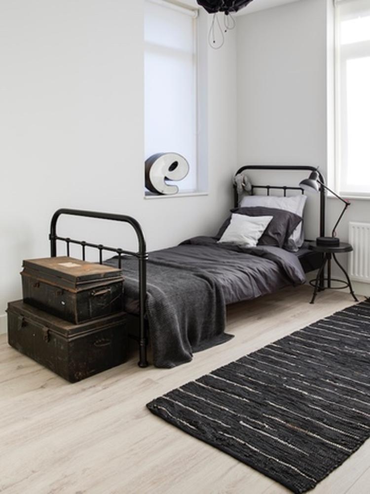 Op zoek naar inspiratie voor een industriële slaapkamer? Op Woonblog ...