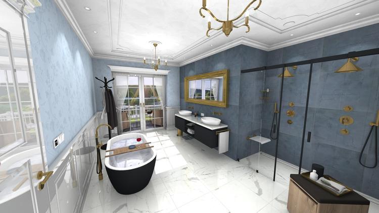 Badkamer Met Marmer : Middelkoop culemborg badkamers deze unieke badkamer heeft een