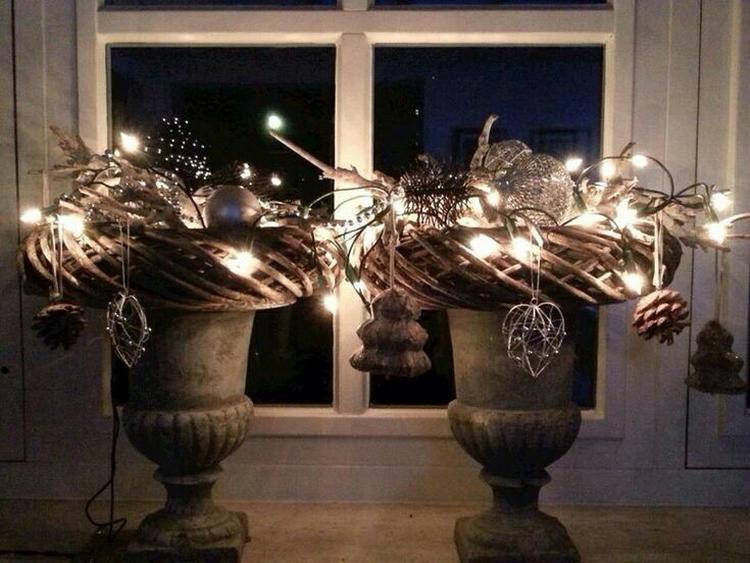 maak met deze kransen een sfeervol herfst / kerst decoratie  voor