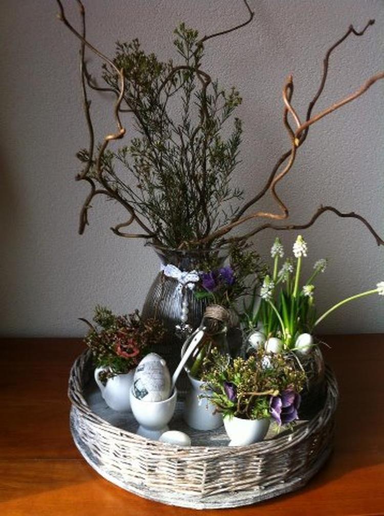 De lente in huis. Allerlei ideeën hier van Welke samengevoegd ...