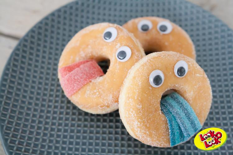 Makkelijke Manier Om Een Leuke Traktatie Te Maken Van Donuts Foto