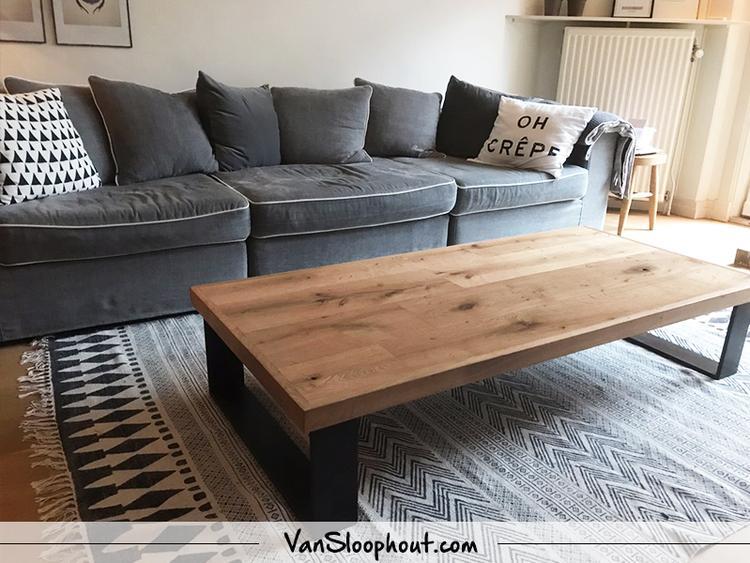 Prachtige Salon Tafel.Salontafel Van Vintage Oak Prachtige Eikenhout Tafel Met