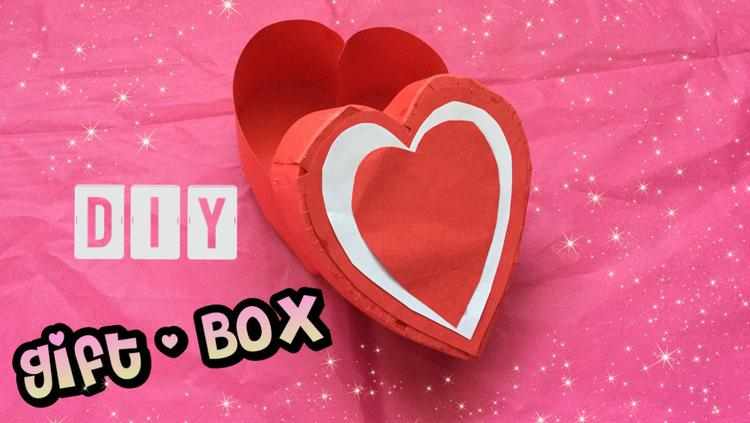 Diy Valentijn Idee Knutsel Een Hartjes Gift Box Voor Valentijn Of