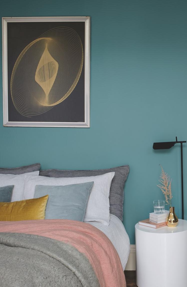 Een nieuw kleurtje voor de slaapkamer? Kleurencombinaties zijn ...