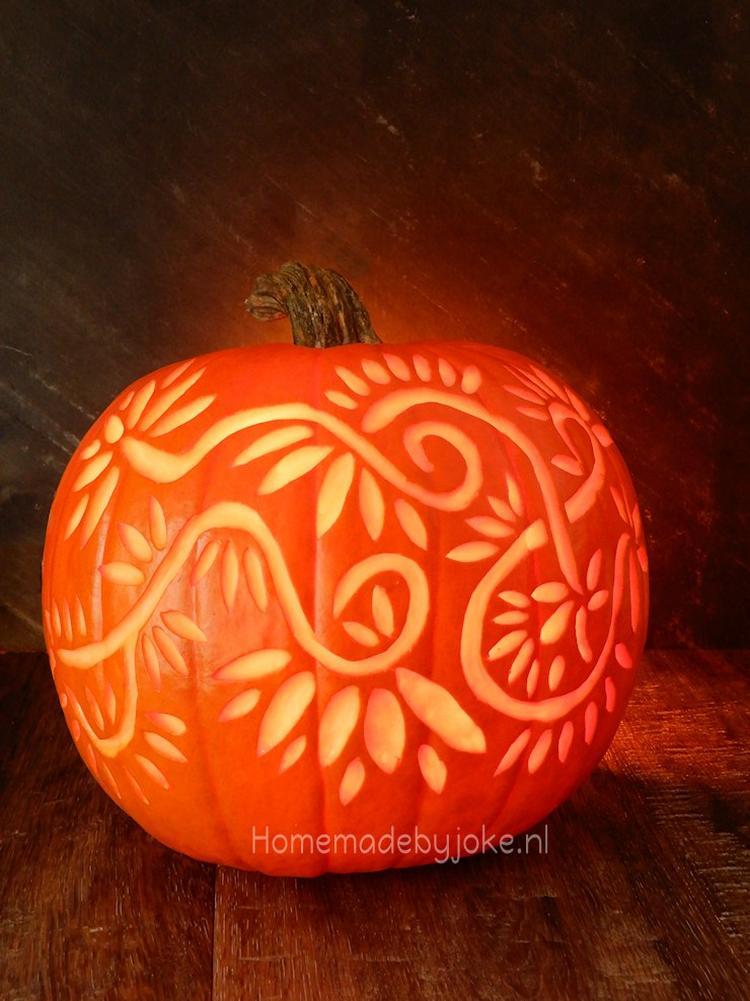 Halloween Figuurtjes Maken.Een Leuke Decoratie Met Halloween Is Deze Pompoen Zo N