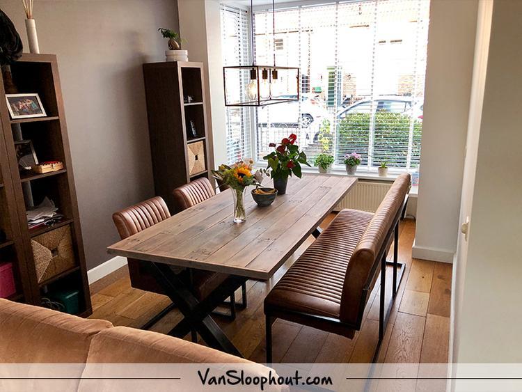 Een Sloophout Interieur : Wauw deze staat prachtig in dit interieur! een sloophout hardhout