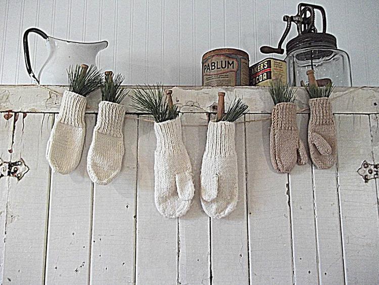Kerst Winter Sier Decoratie Voor Aan De Kast Deze
