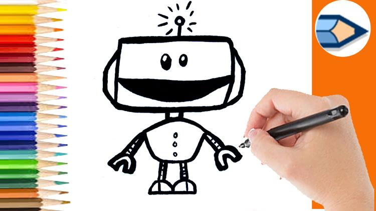 Hoe Teken Ik Een Robot Leren Tekenen Voor Beginners Https Youtu