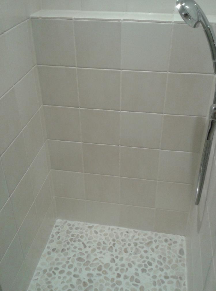 Nieuwe badkamer vloer - Idee voor badkamers ...