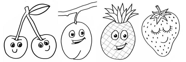 Kleurplaten Fruit En Groente.Vrolijke Kleurplaten Van Fruit Fruitjes Fruitvriendjes Kijk Bij