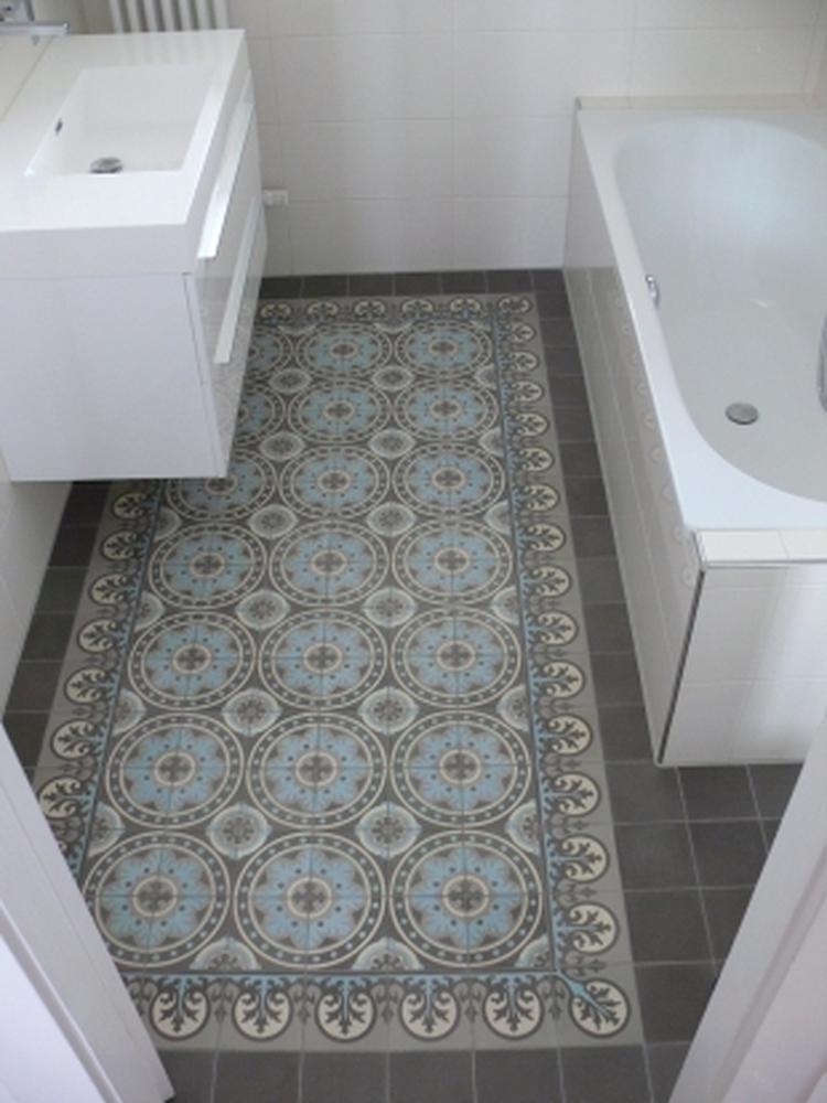 Portugese tegels in de badkamer. Foto geplaatst door tsjitske op ...