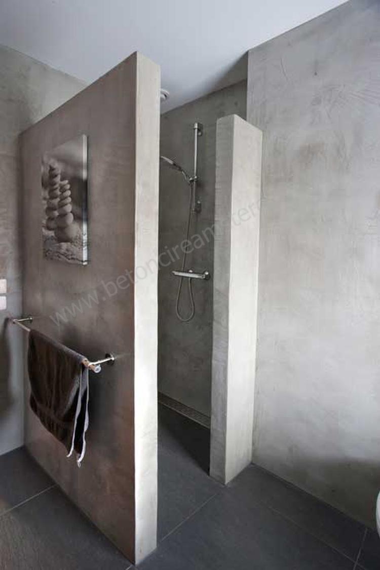 mooi badkamer beton. Foto geplaatst door sjans op Welke.nl
