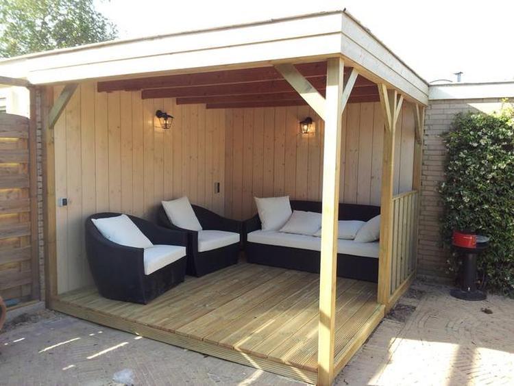 Overkapping Kleine Tuin : Kleine overkapping tuin stunning kleine tuin met houten