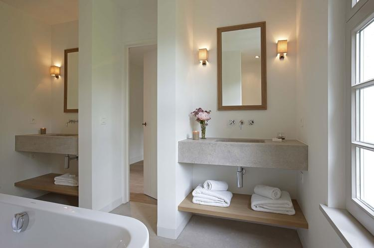 badkamer idee 2 wastafels. Foto geplaatst door Sterrebb op Welke.nl
