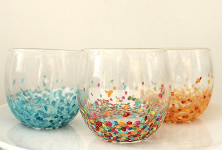 Glas beschilderen welke verf