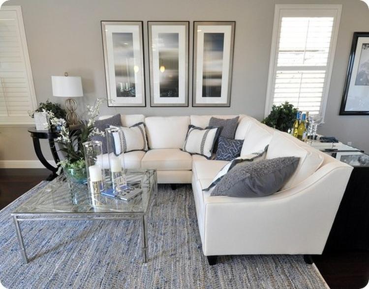 Kleurrijke Witte Woonkamer : Minimalistsche woonkamer in soorten witte verf verf en kleuren