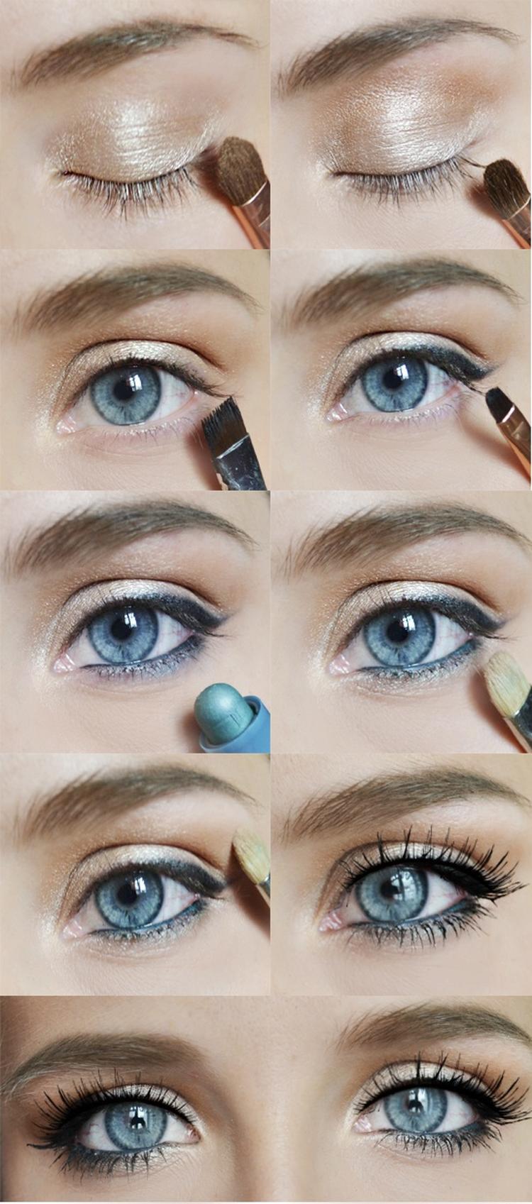 Bien-aimé Mooie naturel make-up voor blauwe ogen!. Foto geplaatst door  BE49