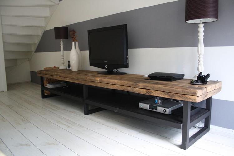 Fabulous Tv Meubel Steigerhout Zelf Maken At Oed53 Agneswamu