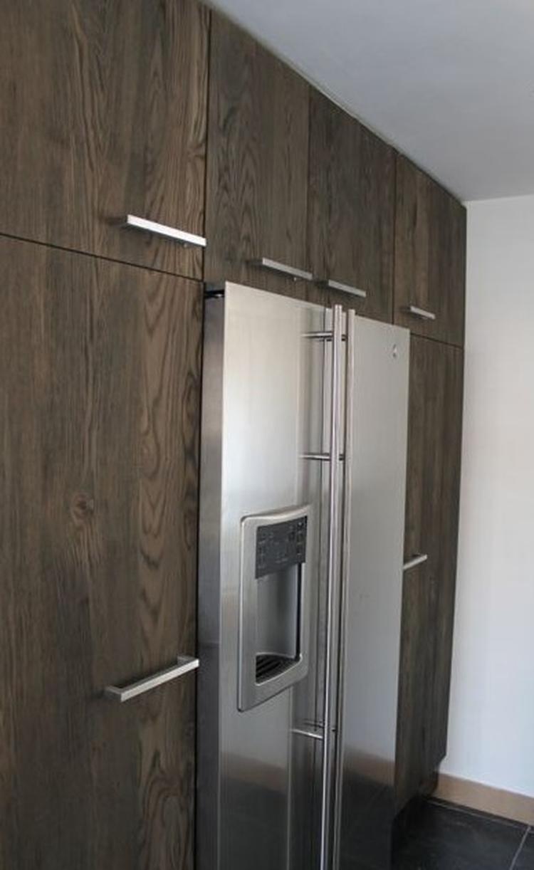 Verouderde Ruwe Deuren Gemaakt Van Eiken Hout Gebaseerd Op Ikea