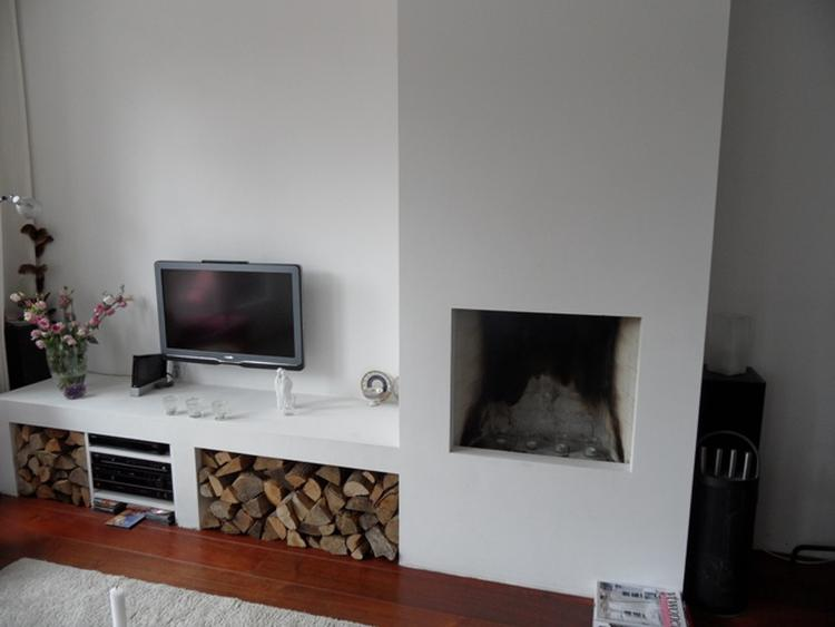 Voorkeur open haard met ombouw. Foto geplaatst door maartjev op Welke.nl KP57