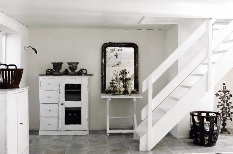 interieur in grijs zwart wit goed sfeertje foto geplaatst door