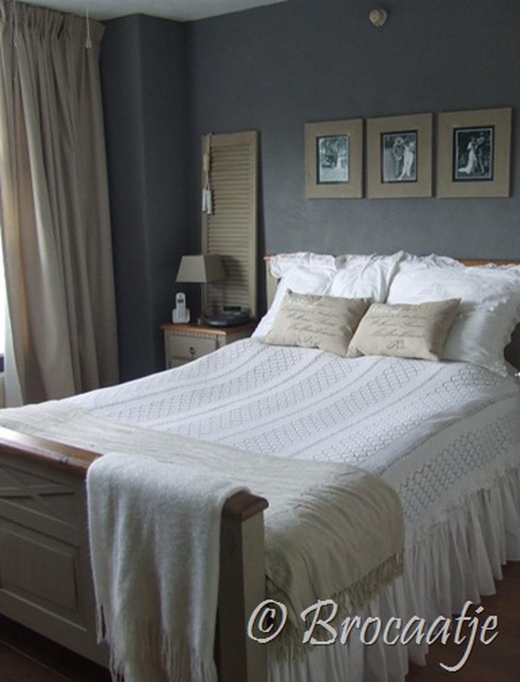 brocante slaapkamer .. Foto geplaatst door ielleboe op Welke.nl