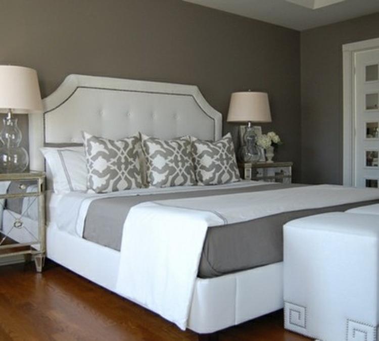 grijs wit slaapkamer. foto geplaatst door kikifonseca op welke.nl, Deco ideeën