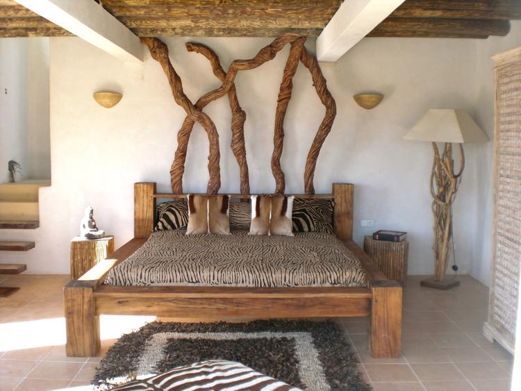 Een slaapkamer met natuurlijke materialen (Ibiza). Foto geplaatst ...