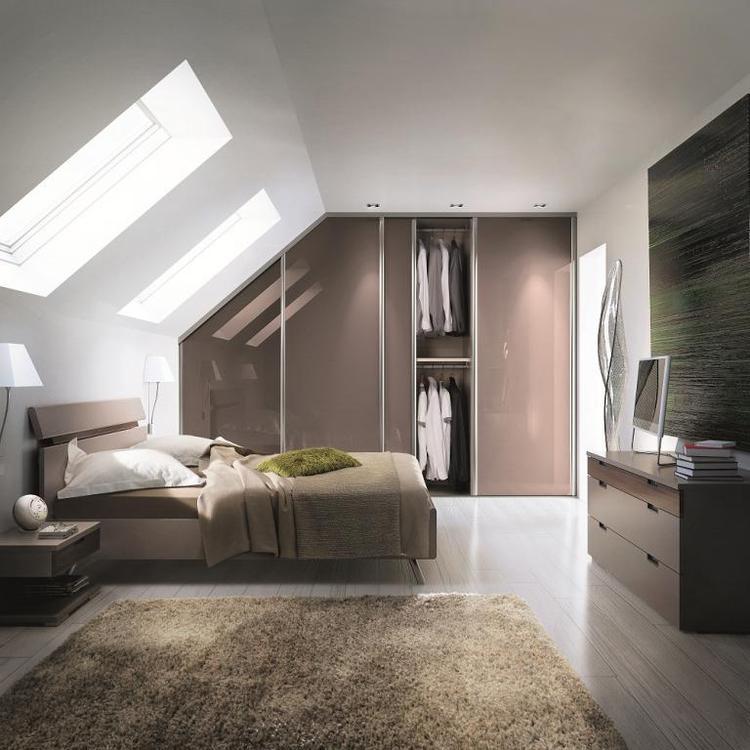 toekomst plannen voor de slaapkamer, met dakraam. Foto geplaatst ...