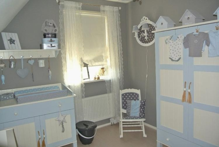 Kleuren Voor Babykamer : Kleuren babykamer meisje grijs met blauw en donker inspiratie