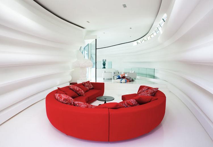 Ronde Design Banken.Rode Ronde Bank Foto Geplaatst Door Juliab Op Welke Nl