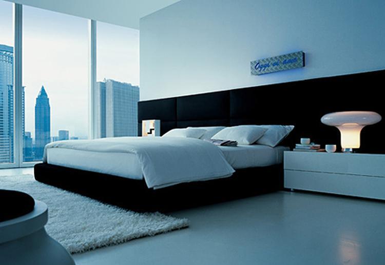Slaapkamer Naturel Tinten : Slaapkamer met een mooi uitzicht. . foto geplaatst door juliab op