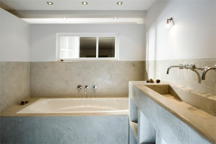 Tadelakt badkamer idee . foto geplaatst door otk op welke.nl