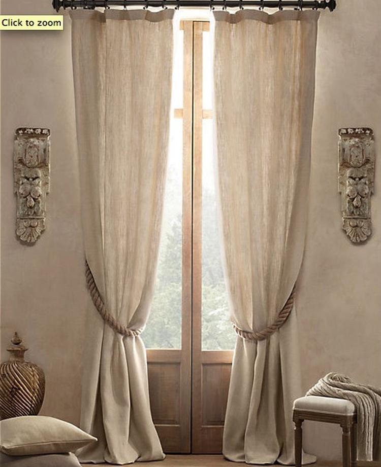 mooie linnen gordijnen voor in woonkamer. Foto geplaatst door ElineM ...