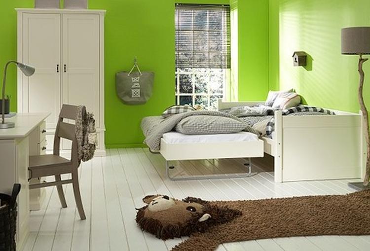 erg leuke kleur combinatie. kleur van de muur is mooi en goed te ...