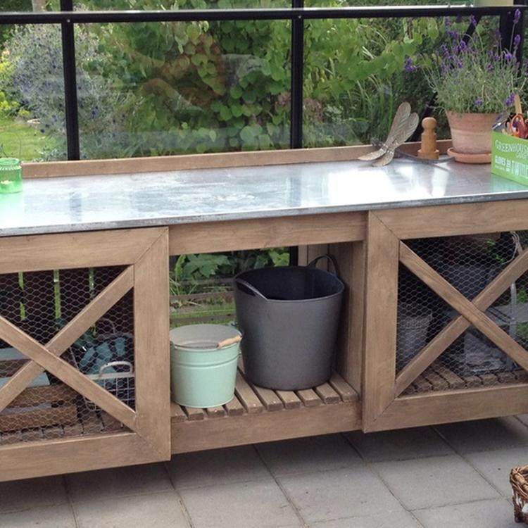 Vaak Leuke buiten tafel.....leuk om zelf te maken!. Foto geplaatst door FP12