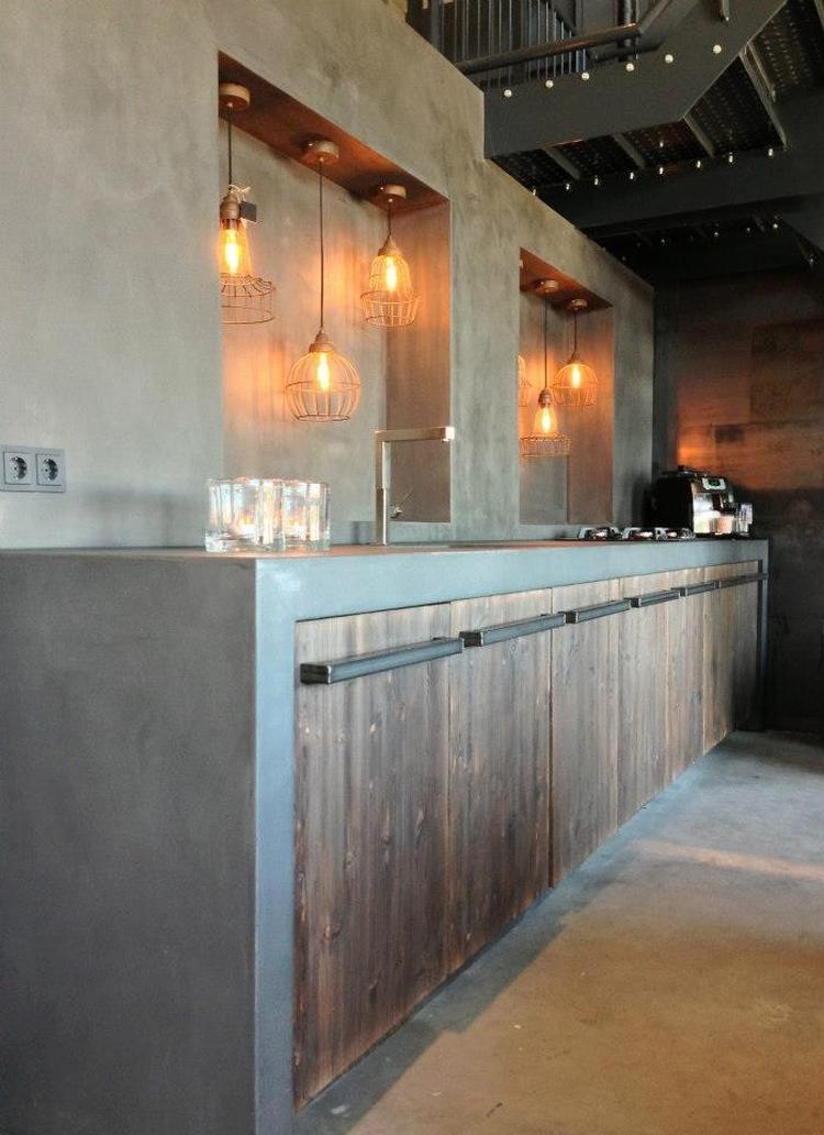 Stoere keuken met betonlook.. Foto geplaatst door betonlookdesign ...