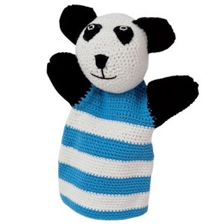 Handpop Haken Panda Foto Geplaatst Door Wolplein Op Welkenl