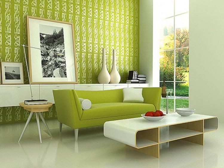 Groen retro interieur. . Foto geplaatst door Joke op Welke.nl