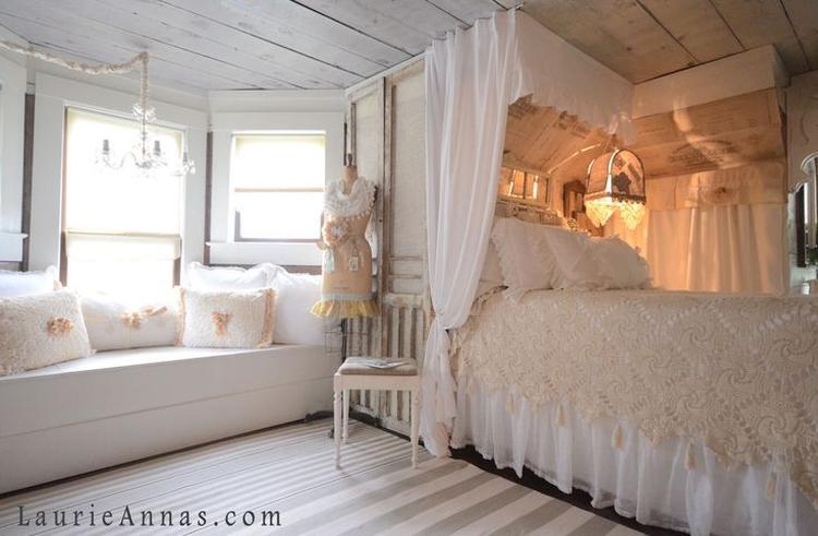 Prachtige romantische slaapkamer gevonden op Pinterest. Foto ...